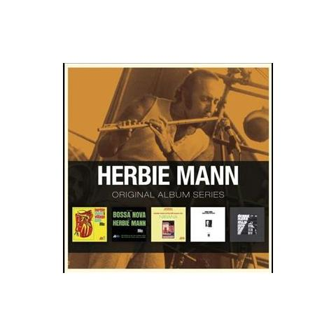 WARNER BROS Cd Mann Herbie - Original Album S. (5cd)