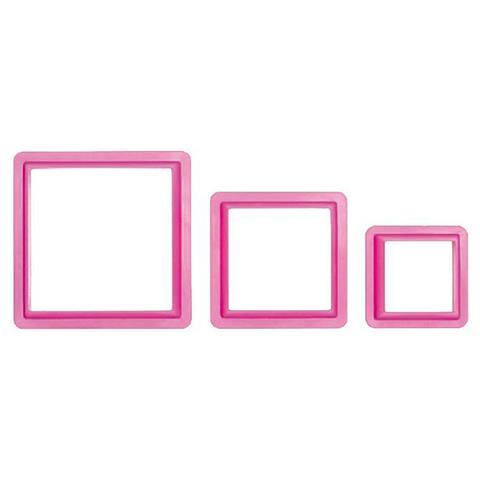 Set 3 tagliapasta quadrato 3,5-5-7h. 2,2cm