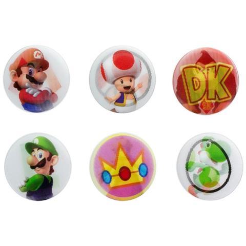 PALADONE Nintendo: Super Mario Lenticular (badge Pack)
