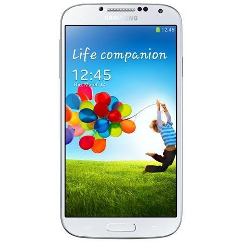 GT-I9505 Galaxy S4 White Display 5'' Amoled HD Quad Core 16 GB LTE NFC Fotocamera 13 Mpx Android 4.2.2 - TIM