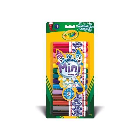 CRAYOLA Colora 14 Mini Pennarelli Lavabili 8343