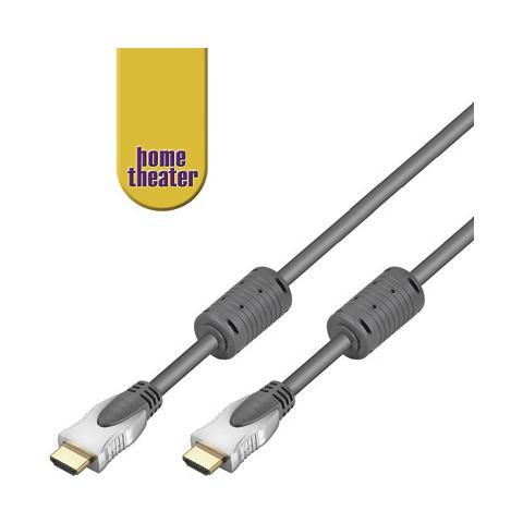 WENTRONIC HT 250-075 0,75m 0.75m HDMI HDMI Nero cavo HDMI