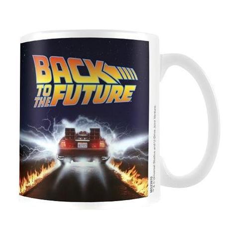 Tazza Back To The Future Mug Delorean