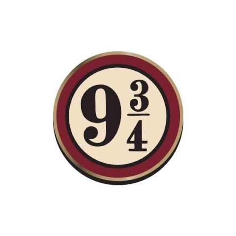 HALF MOON BAY Harry Potter: Platform 9 3/4 (badge Smaltato)