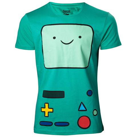 BIOWORLD Adventure Time - Beemo Green (T-Shirt Unisex Tg. XL)