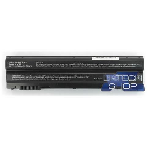 Image of Batteria Notebook Compatibile 5200mah Per Dell Latitude E6520 Nero Computer Pila