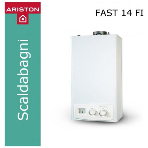 Image of 3677022 Scaldabagno Fast 14 Fi