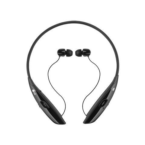 LG TONE Ultra HBS 810, Stereofonico, Micro-USB, Passanuca, Nero, Bluetooth, Intraurale