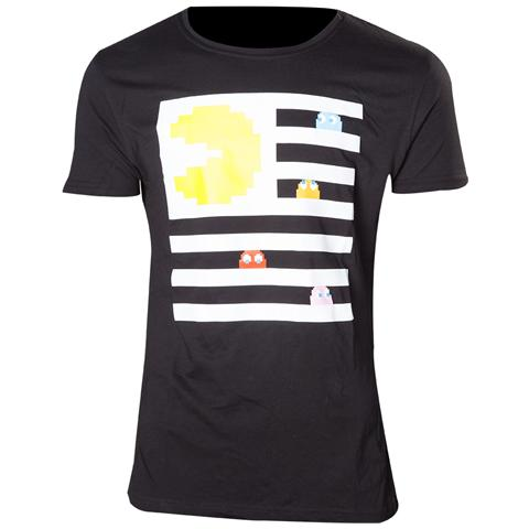 BIOWORLD Pac-Man - Pac-Man And Ghosts (T-Shirt Unisex Tg. XL)