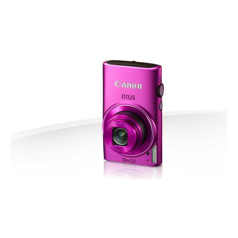 Image of Fotocamera digitale compatta Canon IXUS 255 HS - 12,1 Megapixel - Rosa - 7,6 cm (3'') LCD - 16:9 - 10x Zoom Ottico - 4x - Ottico (IS) - 4000 x 3000 Immagine - 1920 x 1080 Video - HDMI - PictBridge - Modalità HD Movie - LAN wireless