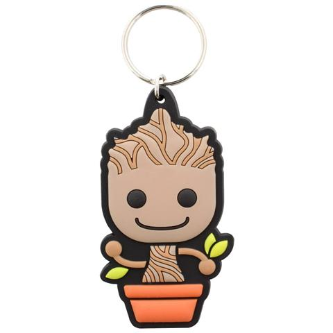 PYRAMID Guardians Of The Galaxy - Baby Groot (Portachiavi Gomma)