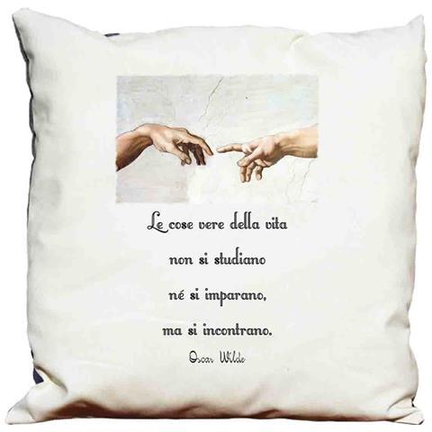 Cuscino Decorativo Frasi D'autore -oscar Wilde 9