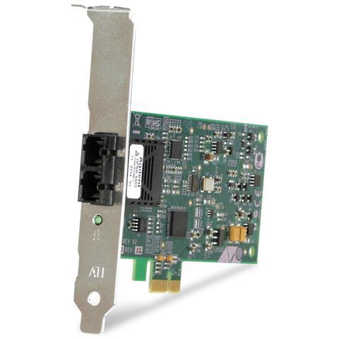 Image of 100FX Desktop PCI-e Fiber Network Adapter Card w / PCI Express, Federal & Government, Cablato, PCI-E, ST, FCC / EN55022 Class B EN55024 Class B UL1950 CE TUV, 0 - 40 °C, -25 - 70 °C