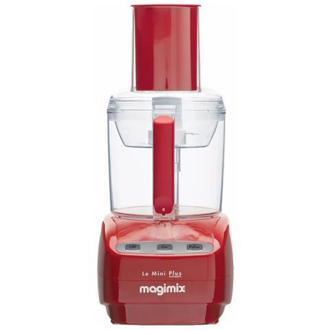 Robot da Cucina Mini Plus Capacità 1,7 L Potenza 400 W Colore Rosso