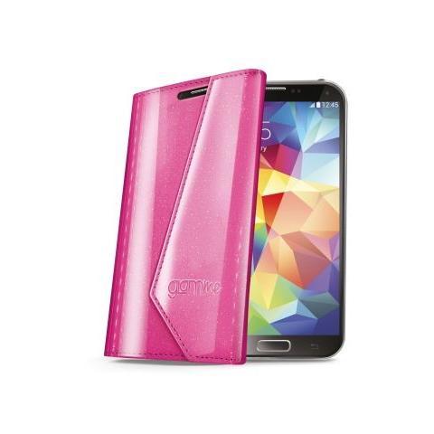 CELLY Custodia FS Lady per Samsung Galaxy S5 - Rosa