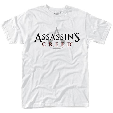 PHM Assassins Creed - Logo (White) (T-Shirt Unisex Tg. L)