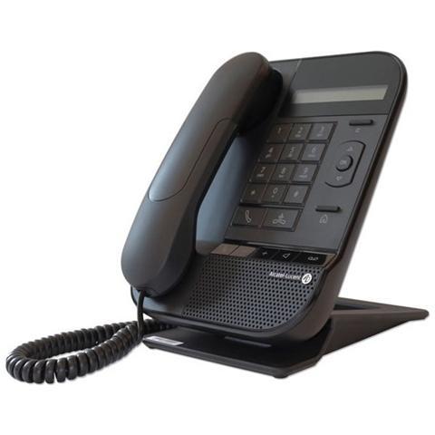 Image of Lucent 8012 DeskPhone Cornetta cablata 1linee LCD Nero telefono IP