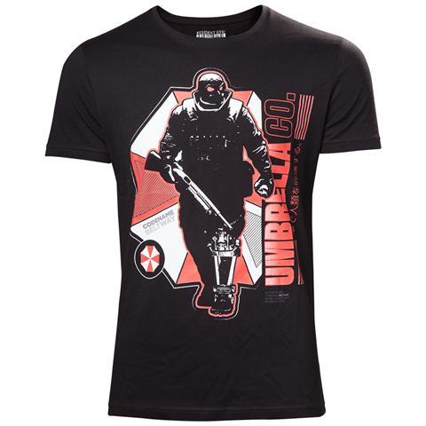BIOWORLD Resident Evil - Umbrella Company Soldies White (T-Shirt Unisex Tg. L)