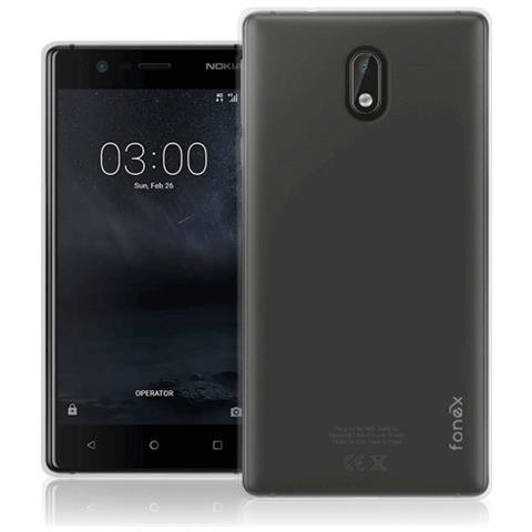 FONEX Cover in TPU per Nokia 3 Colore Trasparente