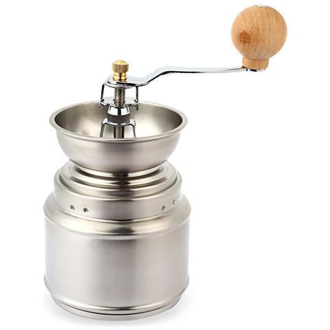 Macinacaffè In Ceramica Manuale Regolabile In Acciaio Inox