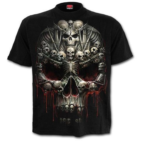 SPIRAL Death Bones T-shirt Black (T-Shirt Unisex Tg. S)