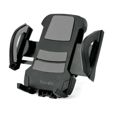"""FONEX Car Holder Supporto da Auto Universale per Alette d'Aerazione Dispositivi fino a 5,5"""" Colore Nero"""