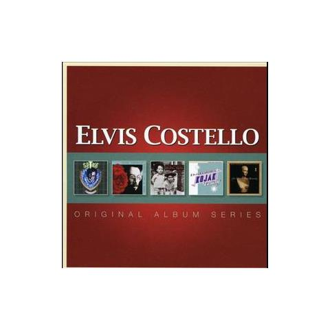 WARNER BROS Cd Costello Elvis - Original Album (5cd)