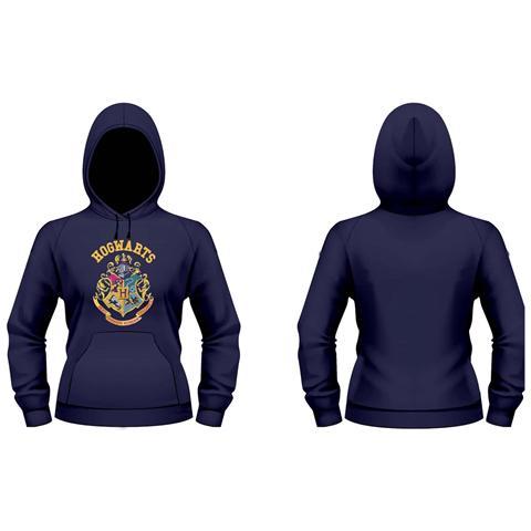 PHM Harry Potter - Crest (Felpa Con Cappuccio Donna Tg. L)
