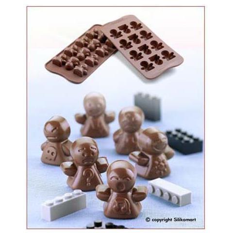 Silikomart Stampo cioccolato mood easy choc 35x30mm h. 16mm 112.5ml silicone