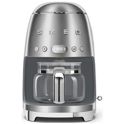 Macchina Caffè Americano 10 Tazze Potenza 1050 Watt Colore Acciaio Spazzolato