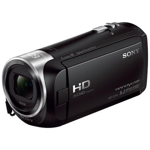 SONY HDR-CX405 Nero Sensore CMOS Exmor R Full HD Zoom Ottico 30x Display 2.7' Stabilizzato