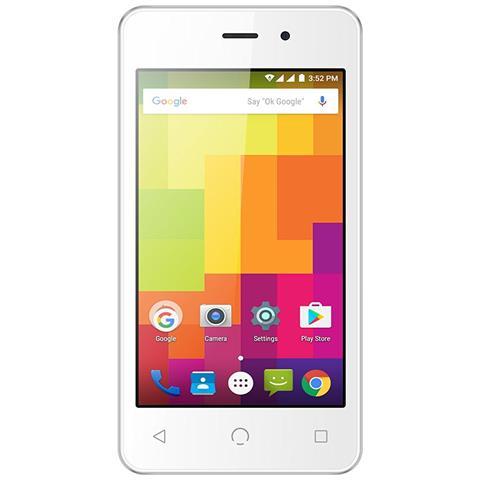 "NUU MOBILE A1 Bianco 4 GB Dual Sim Display 4"" Slot Micro SD Fotocamera 2 Mpx Android Italia"