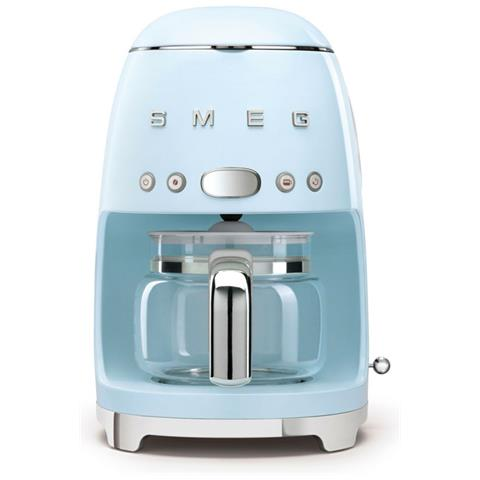 Macchina Caffè Americano 10 Tazze Potenza 1050 Watt Colore Azzurro Pastello