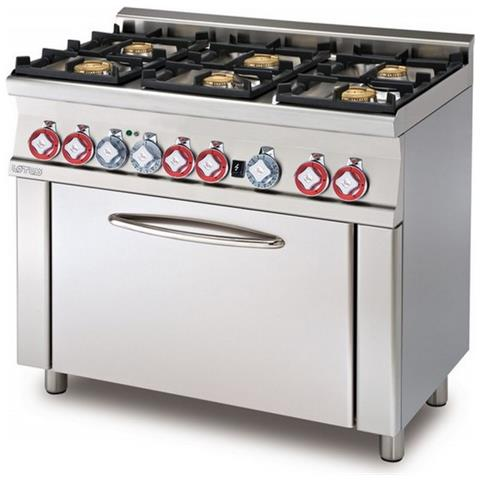 Cucina A Gas Professionale Afp / Cf6-610g