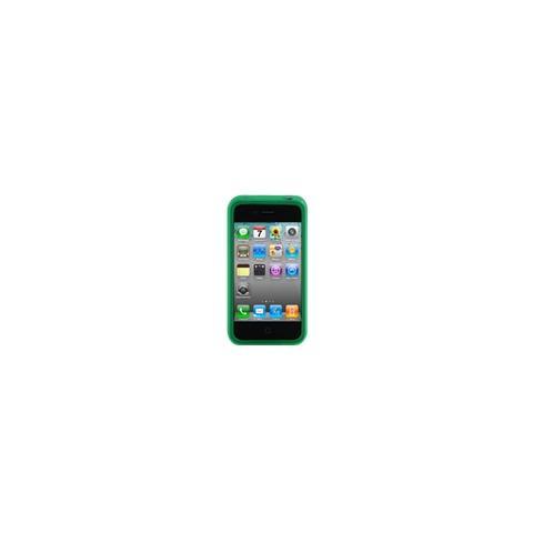 CABLE TECHNOLOGIES Cover posriore in silicone GREEN per iPhone 4