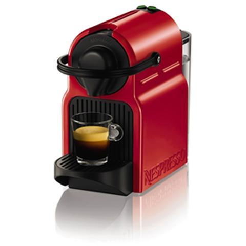 XN1005K Inissia Macchina da Caffè Nespresso Serbatoio 0.8 Litri Colore Rosso