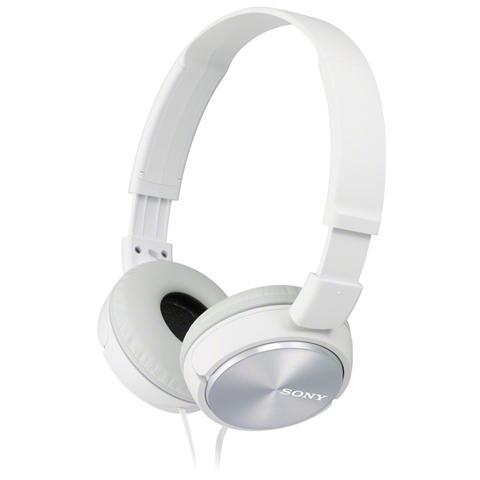 SONY Cuffia Chiusa MDR-ZX310 colore Bianco