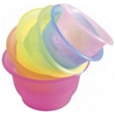 Buby Party 100 Coppette Da Gelato In Plastica 100 Cc Poloplast - Azzurro