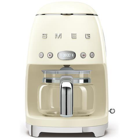 Macchina Caffè Americano 10 Tazze Potenza 1050 Watt Colore Panna