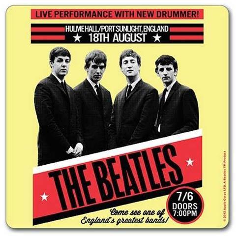 Beatles (the) : 1962 Port Sunlight (sottobicchiere)