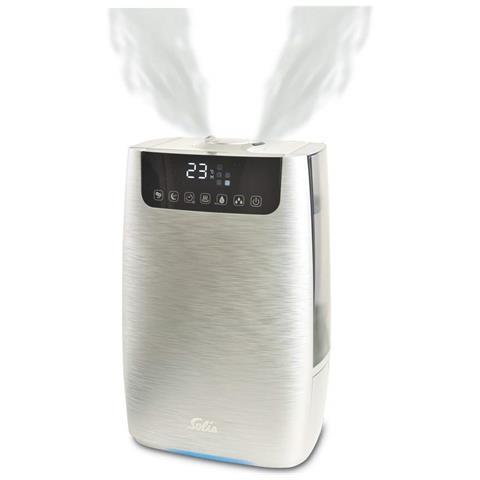 Ultrasonic Pure Ultrasonico 4.5L 105W Argento umidificatore