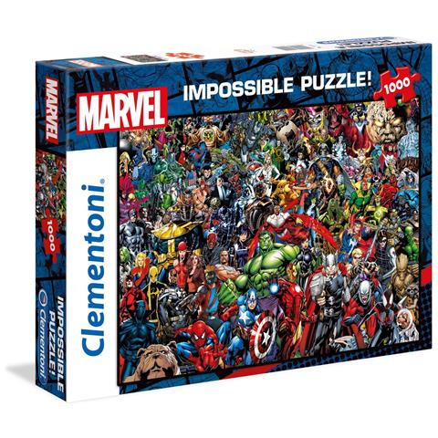 CLEMENTONI Marvel: Puzzle 1000 Pz - Impossible - Marvel