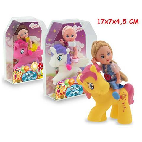 TEOREMA Miss Signorina - Magic Pony Con Bambola 3 Ass - Window Box
