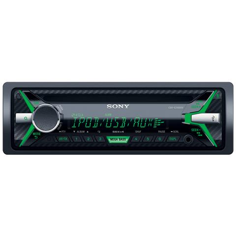 SONY Sintolettore CD MEXXB100BT Potenza 4x100W Supporto AAC / FLAC / MP3 / WAV / WMA Nero