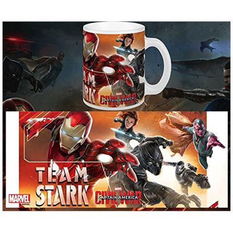 Tazza Captain America Civil War Mug Team Stark