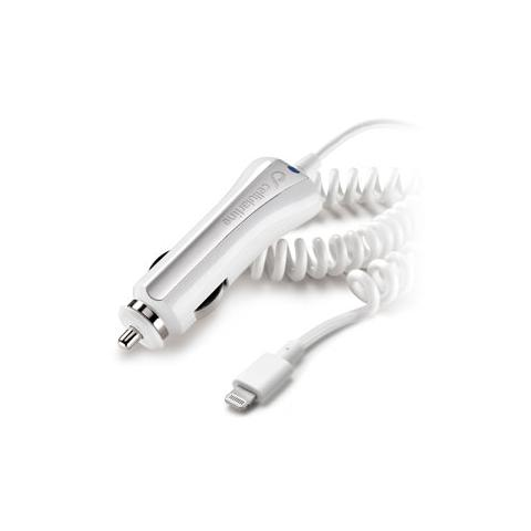 CELLULAR LINE Carica Batteria Car Charger per iPhone 5 - Bianco