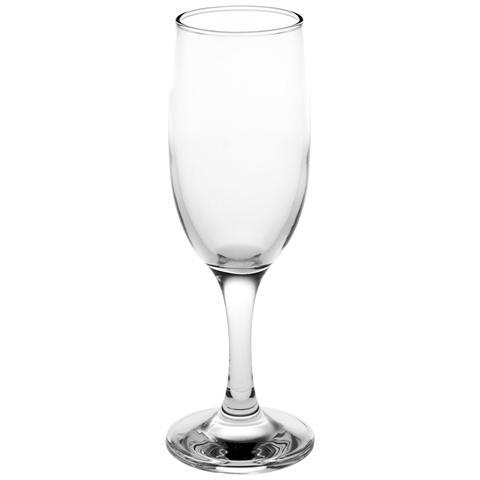 Set 6 Calici Vetro Bistro Flute Cl19 Calici Vino Bicchieri Tavola