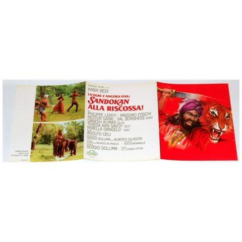 Vendilosubito Brochure Originale Del Film Sandokan Alla Riscossa 1977