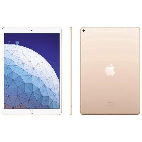 iPad Air Oro Display 10.5'' Full HD+ Hexa Core Memoria 256GB Wi-Fi +4G Lte Fotocamera 8 Mp...