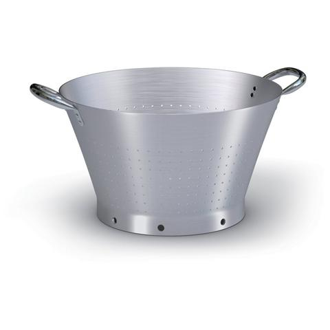 Colapasta Conico 2 Maniglie in Alluminio Diametro 50 cm - Serie 7000